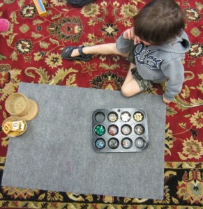 Number Sorting Tray