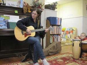 Guitar accompaniment for Let It Snow