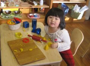 play dough geometric solids
