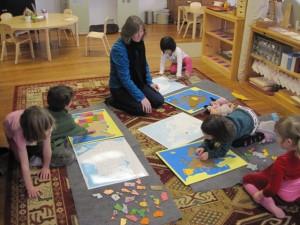 continent puzzle maps