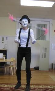 Mima juggling sticks