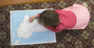 map tracing