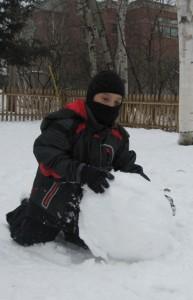 snowball making