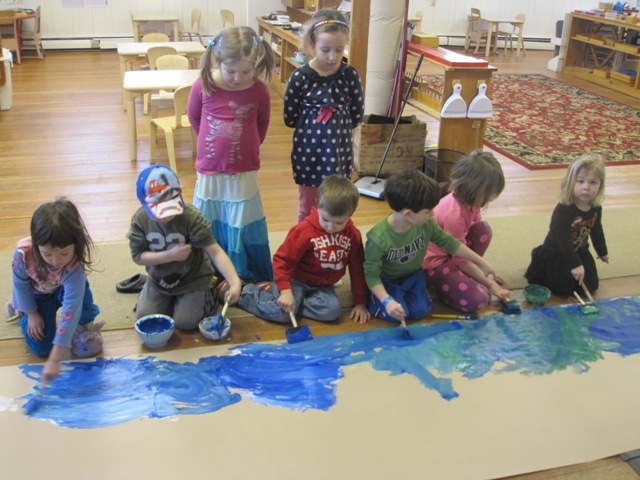 Creating our ocean