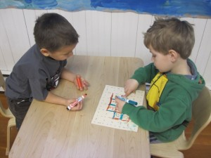 sight word square game