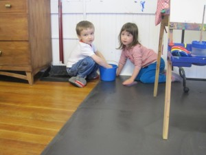 keeping our classroom clean