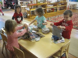 folding washcloths