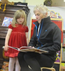 reading with Gerrie