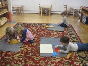 rug work