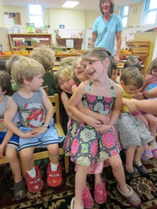 Cooperative Musical Chairs