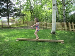 Obstacle Course Balance Beam