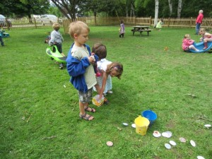 Obstacle Course Toss Game