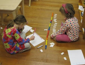 counting and labeling pegs