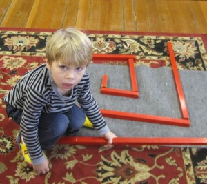 red rod maze