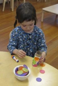 making koinobori