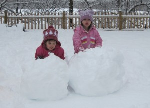 giant snowballs