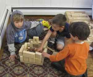 boys and blocks