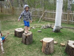 stump jumping