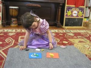 the princess sorting sounds