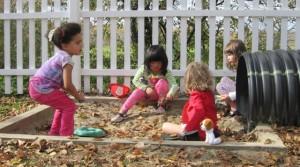 girls in the sandbox