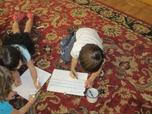 letter formation practice