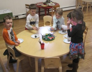 painting clay creations