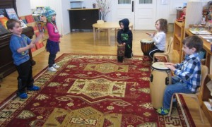 more drumming