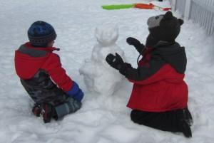 cooperative snowman