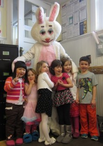 Visit from the Easter Bunny